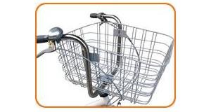 【送料無料】 大きなカゴ!ペットキャリーバッグつき 20インチ自転車 シルバー