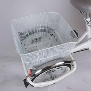 【ノーパンクタイヤ使用】三輪自転車 スイングチャーリー MG-TRF203SWN(内装三段付き) イエロー