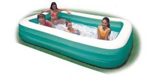 自宅でプールに!【送料無料】 K-153 58484 ビニールプール