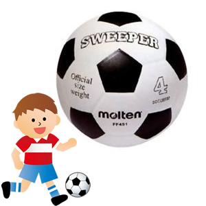 小学生用のサッカーボール「サッカーボール練習球 FF451 4号」