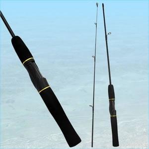 ネットだからこの安さ!釣竿2本継タイプ 136cm(テトラ 堤防 岩礁 穴釣)