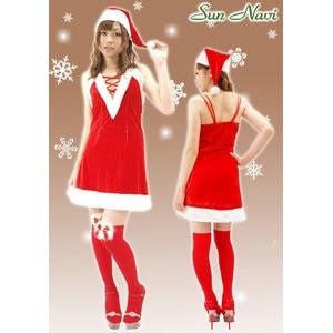 【サンタクロース コスプレ 衣装】2010年新作☆クリスマスサンタ・ショートドレス